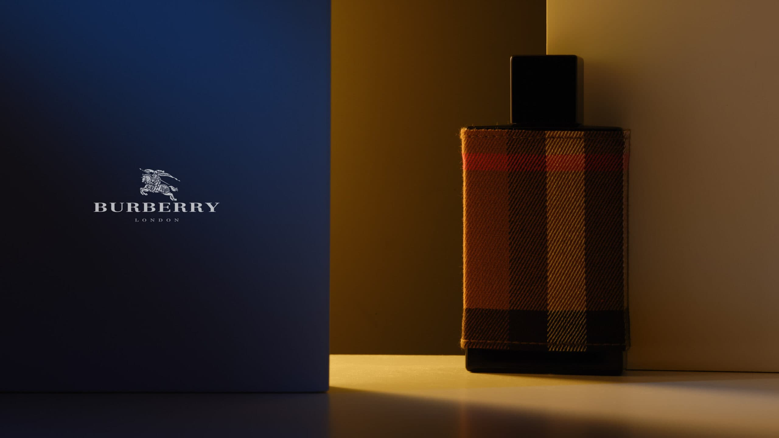 Perfume photography assignment for Burberry
