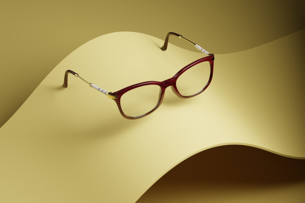 CGI Project with Burberry Glasses Frame